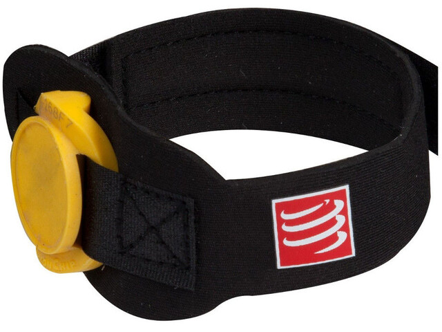Compressport Timing Chipband Black